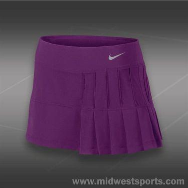 Nike Pintuck Pleated Woven Skirt-Bright Grape