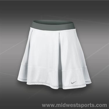 Nike Dri Fit Knit Skirt-White