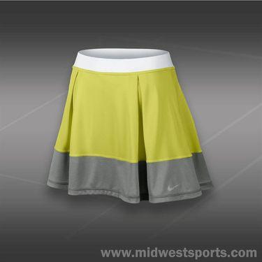 Nike Dri Fit Knit Skirt-Venom Green