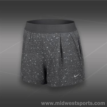 Nike Printed Woven Short-Dark Grey