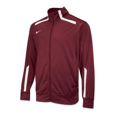 Nike Team Overtime Jacket - Cardinal/White