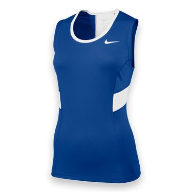 Nike Womens Team Power Tank-Royal
