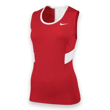 Nike Womens Team Power Tank-Cardinal