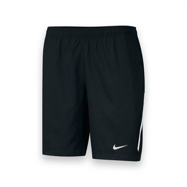 Nike Mens Team Power 9 Inch Short-Black