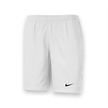 Nike Mens Team Power 9 Inch Short-White