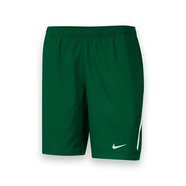 Nike Mens Team Power 9 Inch Short-Dark Green