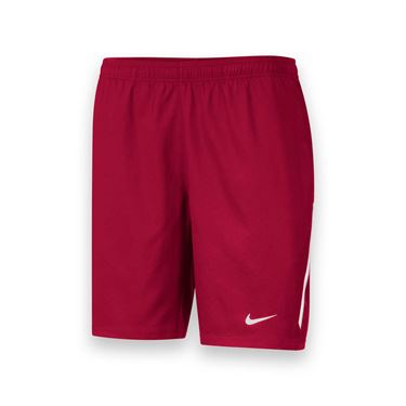 Nike Mens Team Power 9 Inch Short-Scarlet