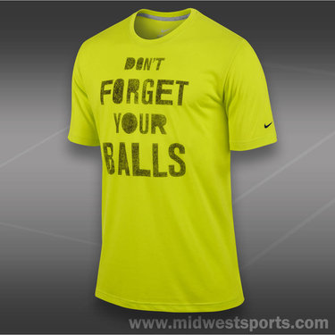 Nike Dont Forget Your Balls T-Shirt-Cyber