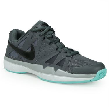 Nike Air Vapor Advantage Mens Tennis Shoe - Dark Grey/Black/Wolf Grey/White