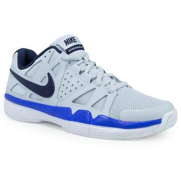 Nike Air Vapor Advantage Mens Tennis Shoe - Pure Platinum/Midnight Navy/Racer Blue