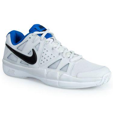 Nike Air Vapor Advantage Mens Tennis Shoe - Grey/Black/White/Blue