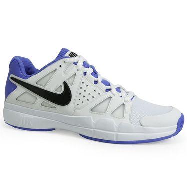 Nike Air Vapor Advantage Mens Tennis Shoe - White/Black/Medium Blue