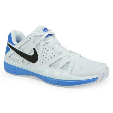 Nike Air Vapor Advantage Mens Tennis Shoe - White/Black/Light Photo Blue