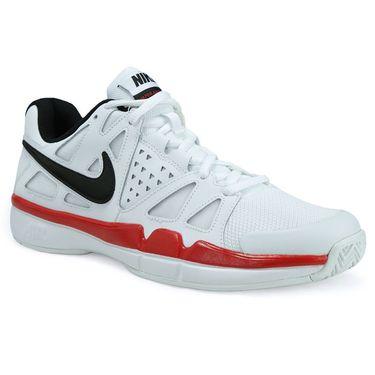 Nike Air Vapor Advantage Mens Tennis Shoe - White/Black/University Red