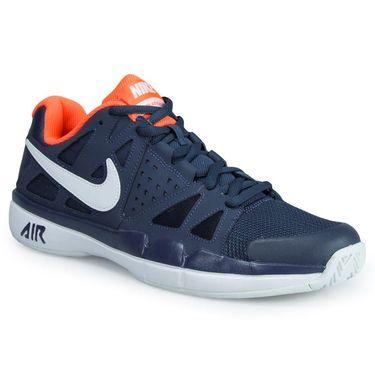 Nike Air Vapor Advantage Mens Tennis Shoe - Thunder Blue/White/Hyper Orange