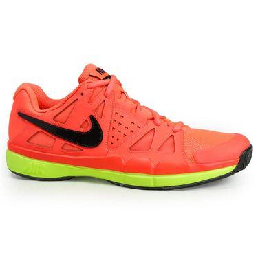 Nike Air Vapor Advantage Mens Tennis Shoe - Hyper Orange/Black/Volt/White