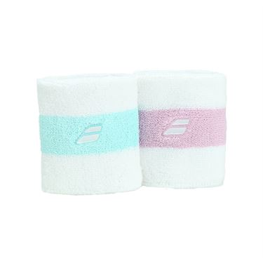 Babolat Reversible Wristband - Purple/Blue