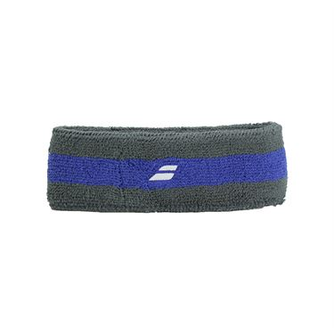 Babolat Reversible Headband - Grey Blue