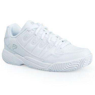 Fila Summerlin Womens Tennis Shoe - White/Silver