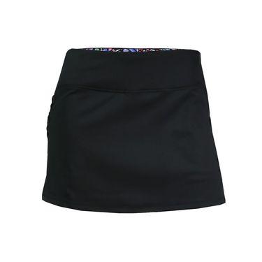 B Passionit Spectrum Criss Cross Side Skirt - Black/Spectrum