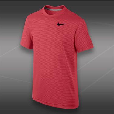 Nike Boys Dri Fit Touch Crew-Laser Crimson