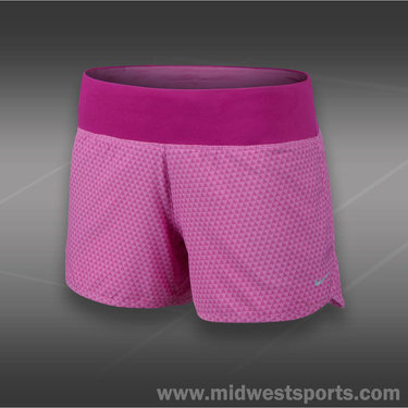 Nike Printed 4 In Rival Short-Red Violet