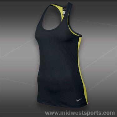 Nike Pro Hypercool Tank-Black/Venom Green