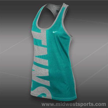 Nike Tennis Tank-Dk Grey Heather