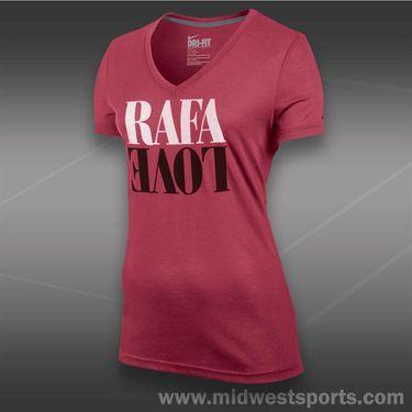 Nike Rafa Love Tee-Geranium