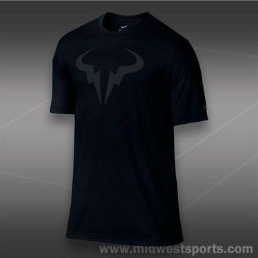 Nike Rafa Dri Blend Crew- Black