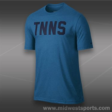 Nike Tennis T-Shirt- Military Blue