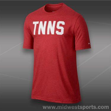 Nike Tennis T-Shirt- University Red Heather