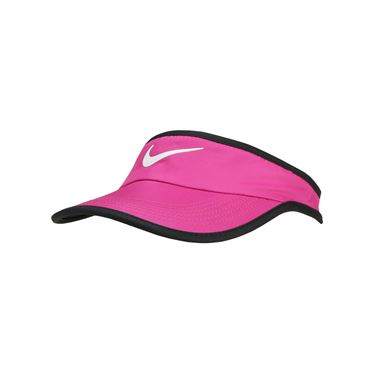 Nike Kids Featherlight Visor - Lethal Pink/Black/White