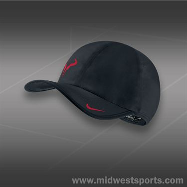 Nike Bull Logo 2.0 Hat-Black/University Red