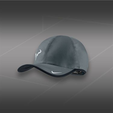 Nike Rafa Bull Feather Light Hat-Magnet Grey