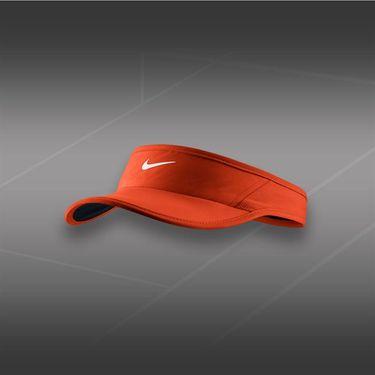 Nike Womens Feather Light 2.0 Visor-Team Orange