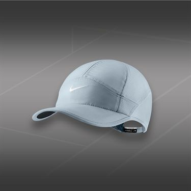 Nike Womens Feather Light 2.0 Hat-Magnet Grey