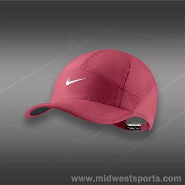 Nike Womens Feather Light 2.0 Hat-Geranium