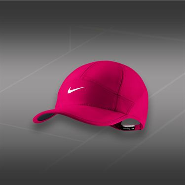 Nike Womens Feather Light 2.0 Hat-Fuchsia Force