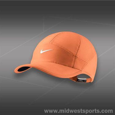 Nike Womens Feather Light 2.0 Hat-Atomic Orange