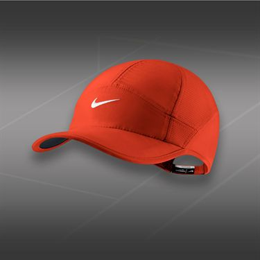 Nike Womens Feather Light 2.0 Hat-Team Orange