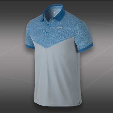 Nike Dri Fit Touch Polo-Light Magnet Grey