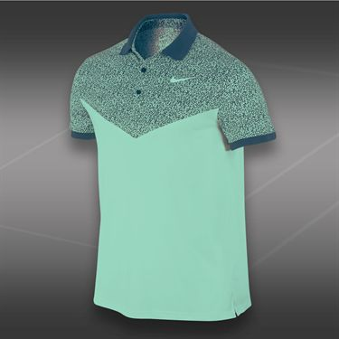 Nike Dri Fit Touch Polo-Medium Mint