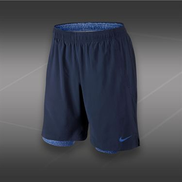 Nike Glad 2-In-1 9 inch Printed Short-Midnight Navy