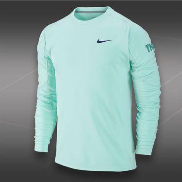 Nike Long Sleeve  Practice Crew-Medium Mint