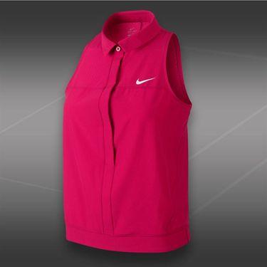 Nike Premier Sleeveless Polo-Fuchsia Force