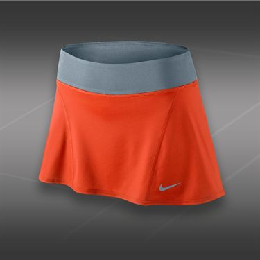 Nike Flouncy Knit Skirt-Team Orange