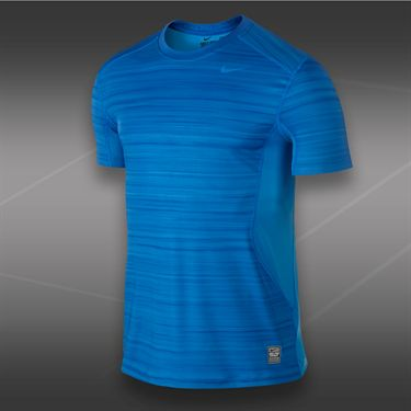 Nike Core Fitted Hyperblur Crew-Photo Blue
