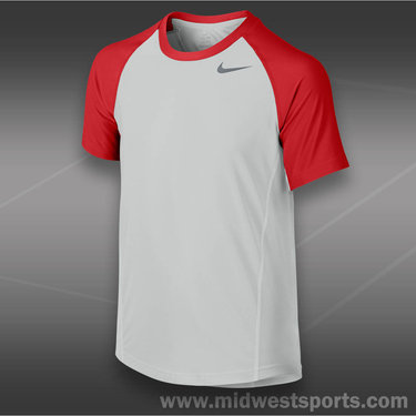 Nike Boys Advantage UV Crew -Light Base Grey