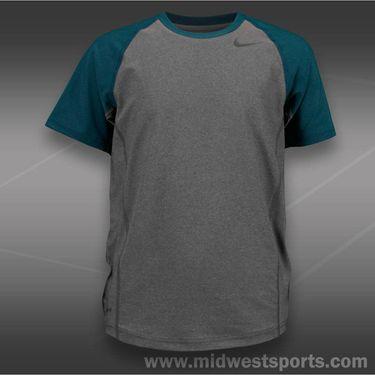 Nike Boys Advantage UV Crew-Grey Heather
